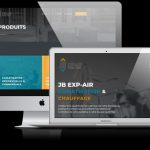 Conception Site WordPress pour JB EXP-AIR
