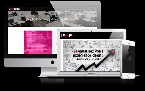 Conception Site WordPress pour Pragma